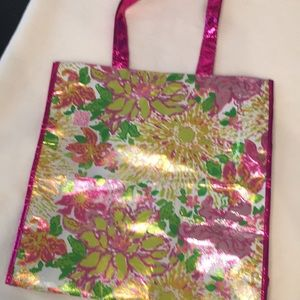 Lilly Pulitzer reusable shopping tote. Unused